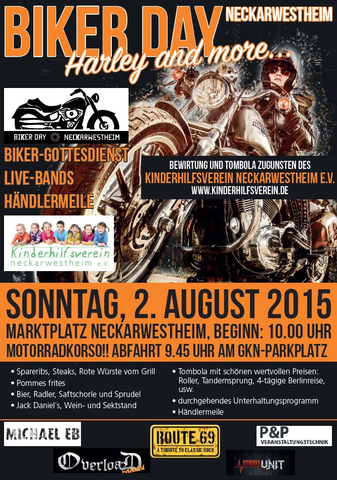 Flyer Bikerday 2015